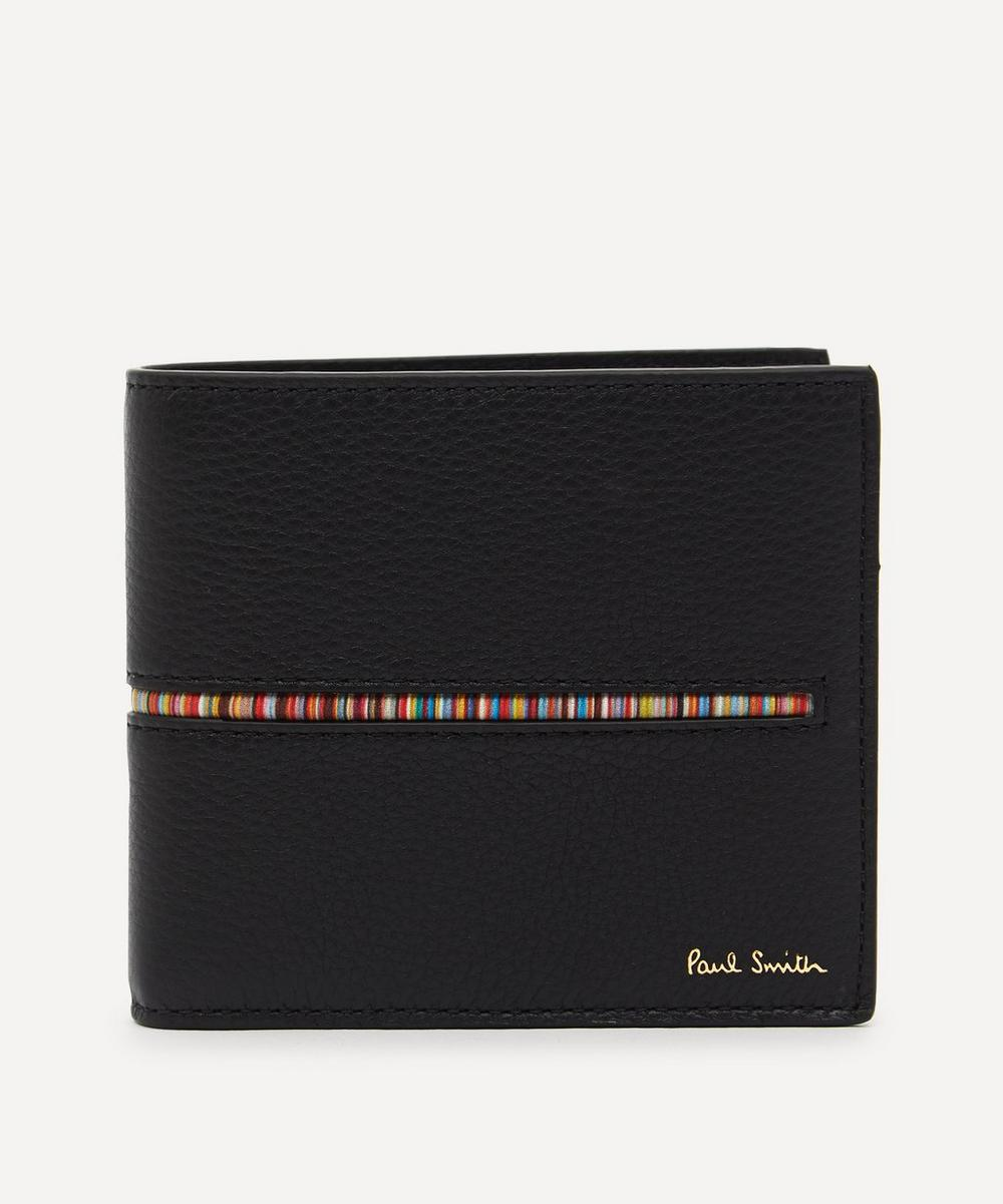 Paul Smith Signature Stripe Leather Bifold Wallet from Liberty London US | Daily Mail