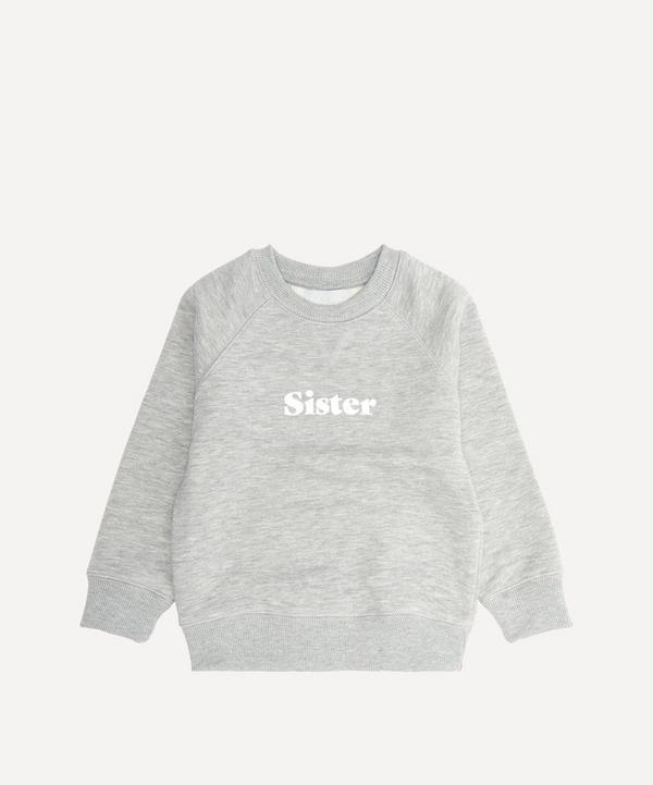 Bob & Blossom - Sister Cotton-Blend Sweatshirt 1-6 Years
