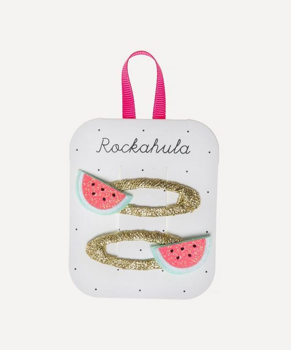 Rockahula - Glitter Watermelon Hairclips