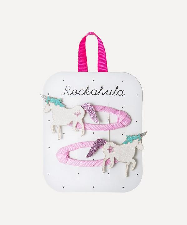 Rockahula - Unicorn Glitter Hair Clips