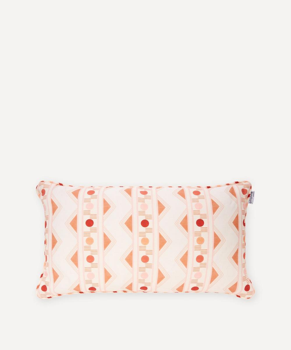 Ottoline - Improvisation No.2 Linen Cushion
