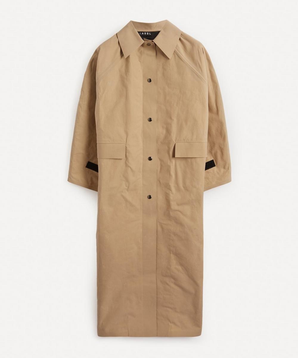 KASSL Editions - Original Long Wax Matte Coat