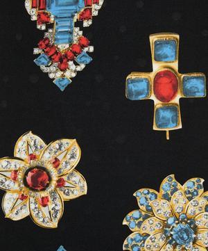 Jewelled Cross Silk