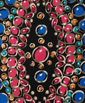 Beaded Formation Pattern Silk