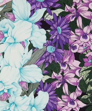 English Garden Flowers Silk