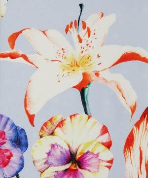 Large Lilies Silk