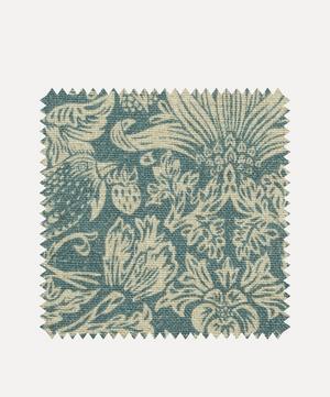 Fabric Swatch - Strawberry Meadowfield Ladbroke Linen in Lichen