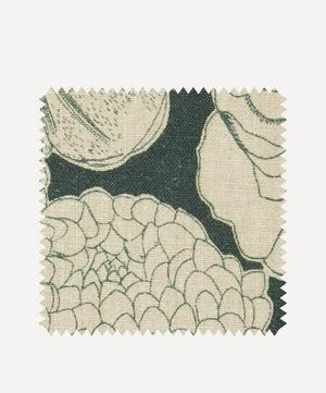 Fabric Swatch - Zennor Arbour Ladbroke Linen in Jade