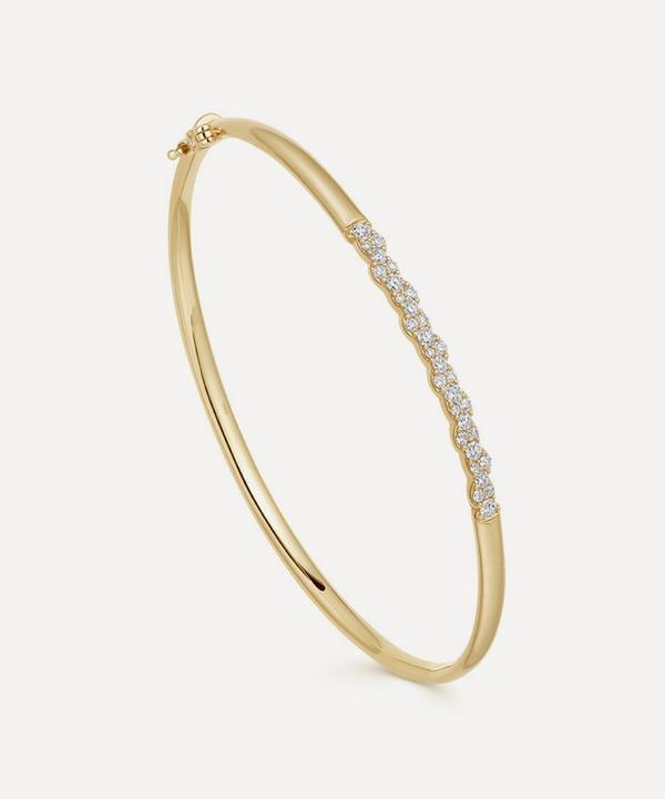 Astley Clarke - 14ct Gold Interstellar Diamond Bangle