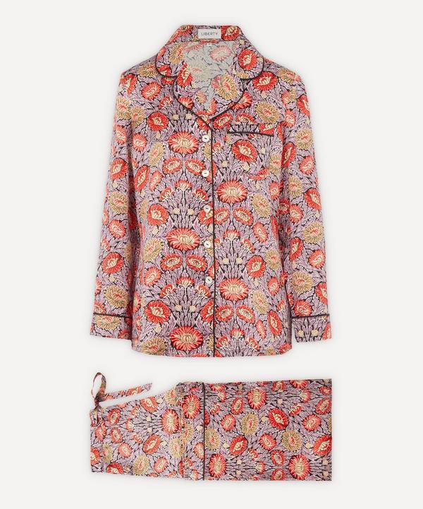 Liberty - Cynthia Silk Charmeuse Pyjama Set