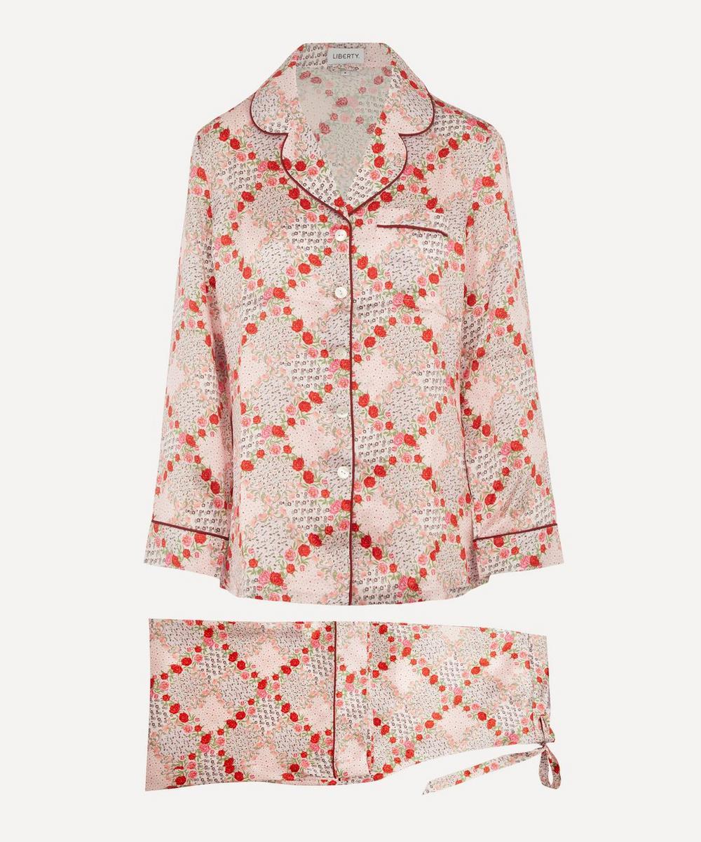 Liberty - Connie Silk Charmeuse Pyjama Set