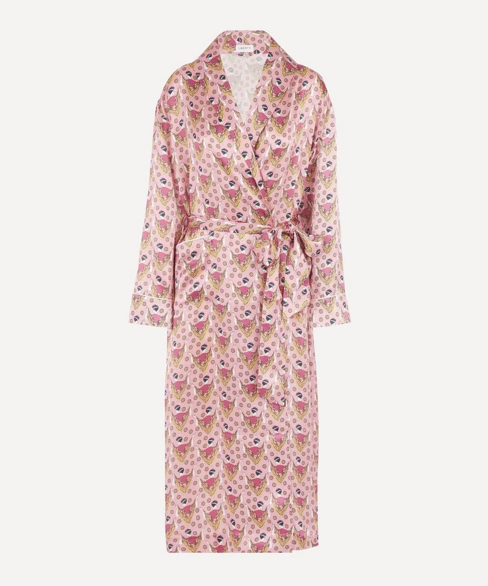 Liberty - Sweet Thing Silk Charmeuse Robe