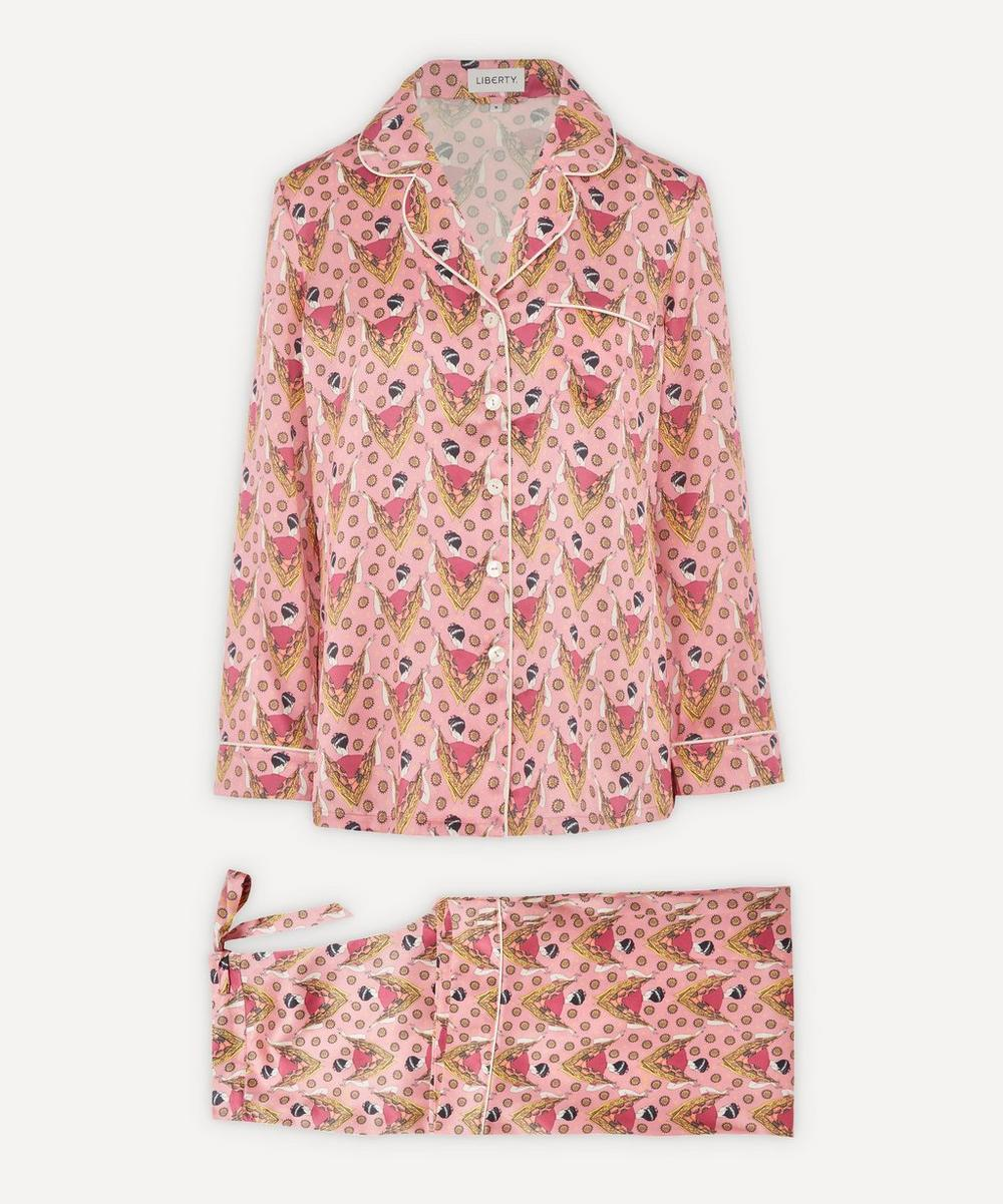 Liberty - Sweet Thing Silk Charmeuse Pyjama Set