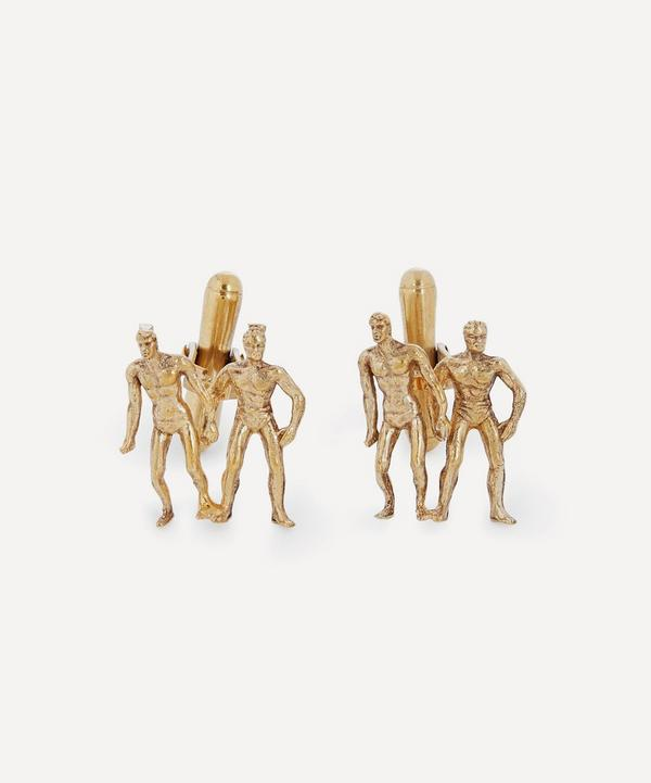 Turn of the Century Silver-Gilt Cufflinks
