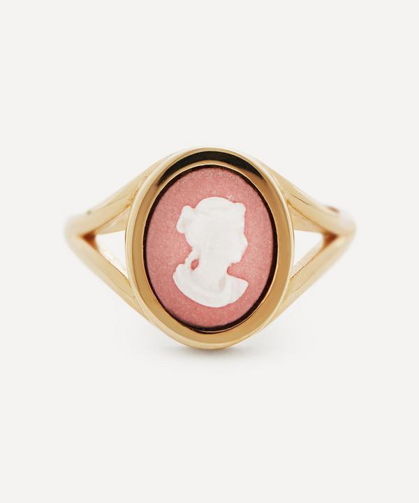 Ferian - 9ct Gold Wedgwood Profile Tiny Split Ring