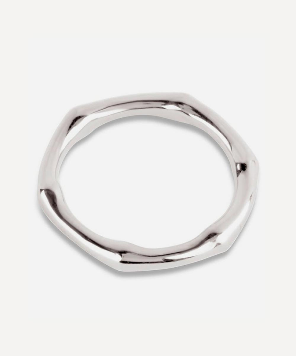 Dinny Hall - Silver Bamboo Ring