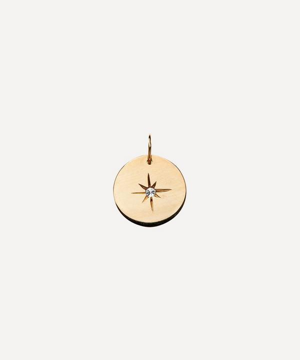 Atelier VM - 18ct Gold Diamond Eye Charm