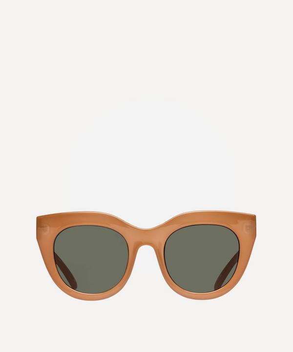Le Specs - Air Heart Oversized Sunglasses