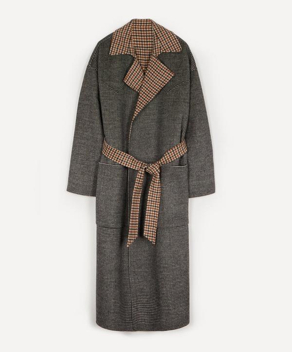 Nanushka - Alamo Wool-Silk Robe Coat