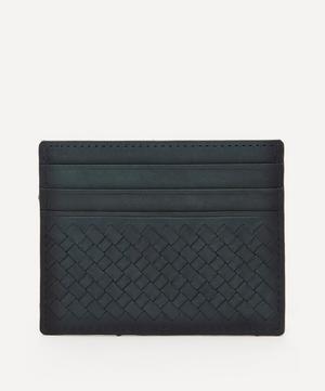 Interlaced Leather Card Holder