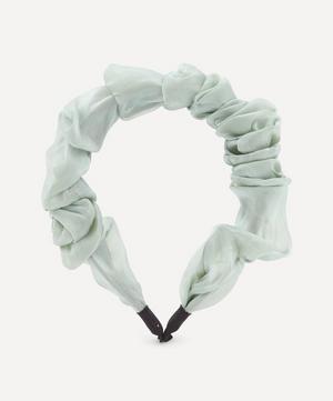 Organza Ruffled Headband