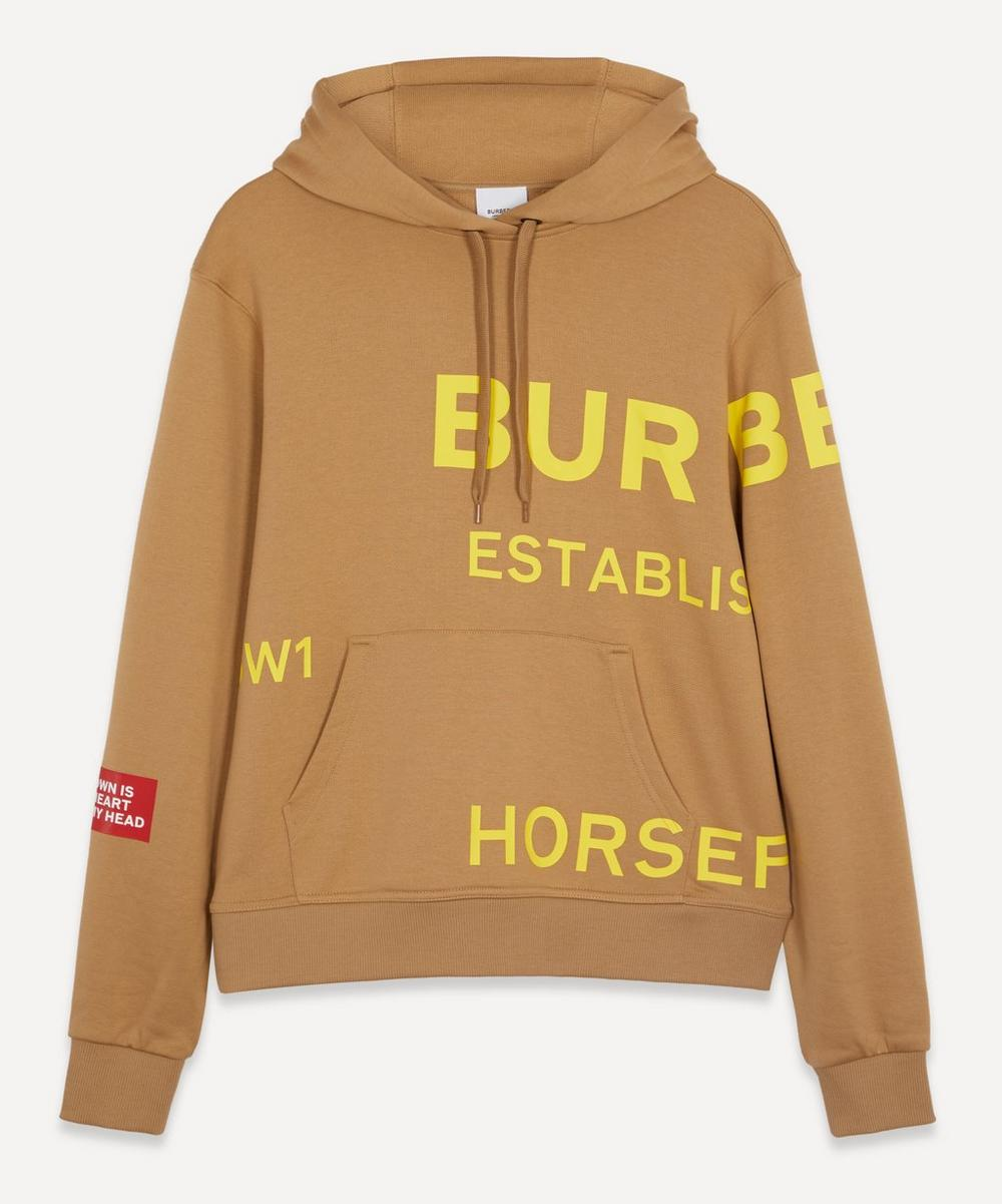 Burberry Cottons HORSEFERRY PRINT OVERSIZED HOODIE