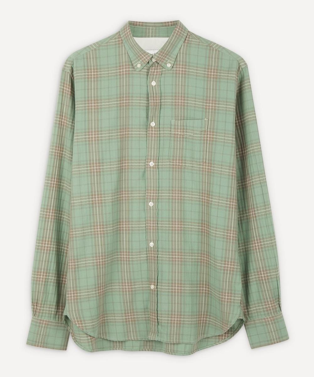 Officine Generale JAPANESE OMBRE CHECK SHIRT