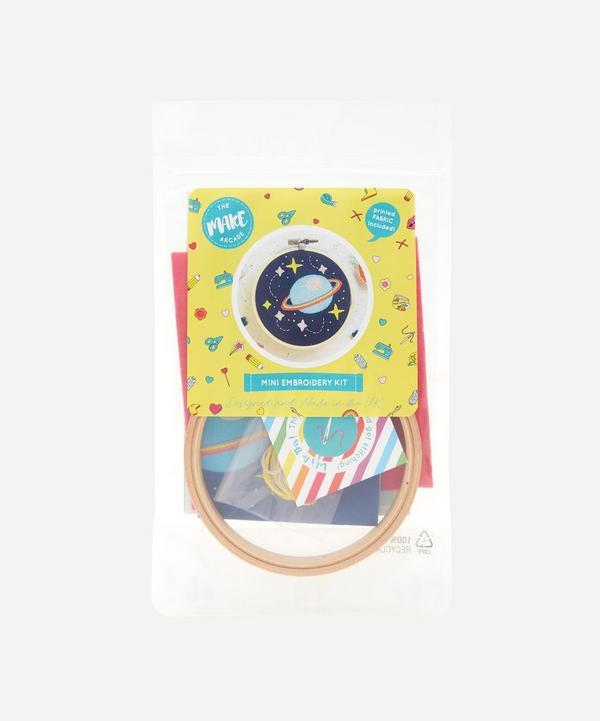 The Make Arcade - Galaxy Mini Embroidery Kit