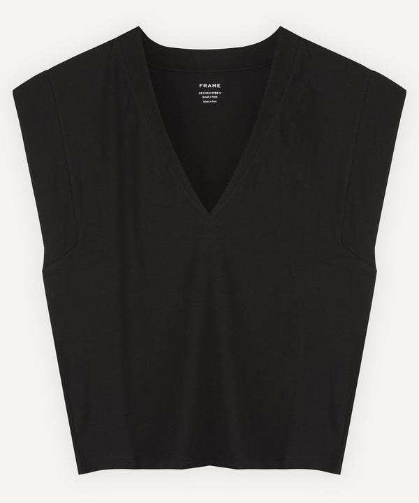 Frame - Le High Rise V-Neck T-Shirt