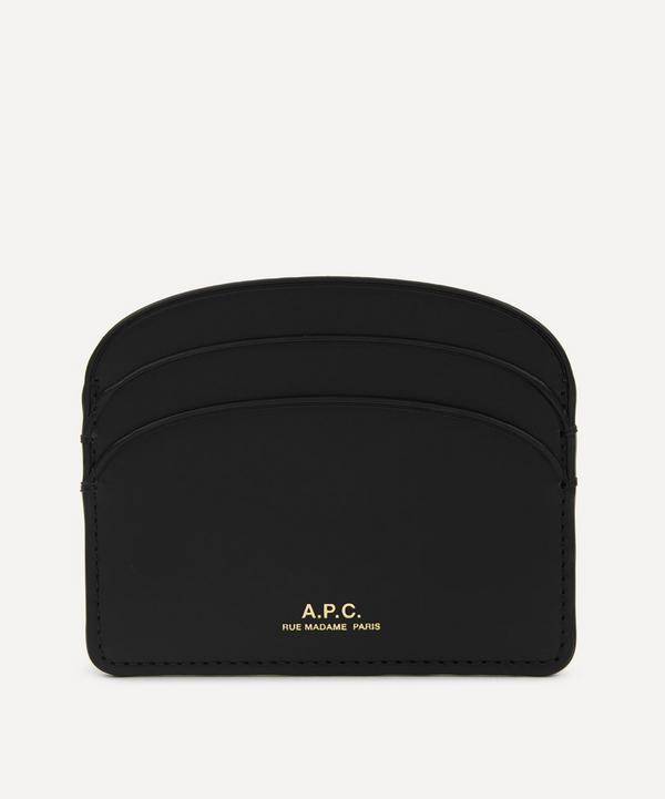 A.P.C. - Half-Moon Leather Card Holder