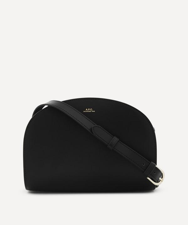 A.P.C. - Leather Demi-Lune Bag
