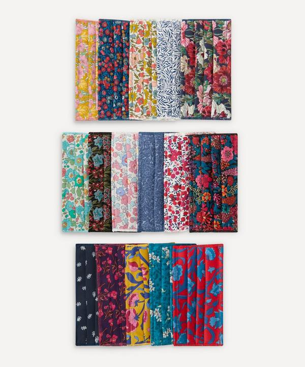 Liberty - Assorted Upcycled Tana Lawn™ Cotton Face Coverings Set of Five