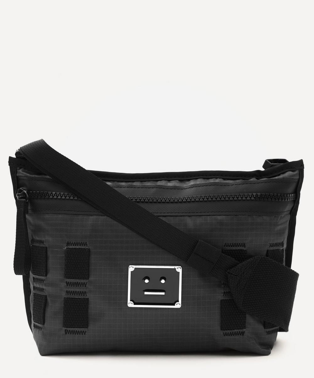 ACNE STUDIOS LOGO PLAQUE BELT BAG