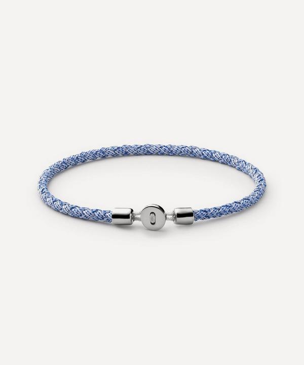 Miansai - Sterling Silver Nexus Ribbon Bracelet