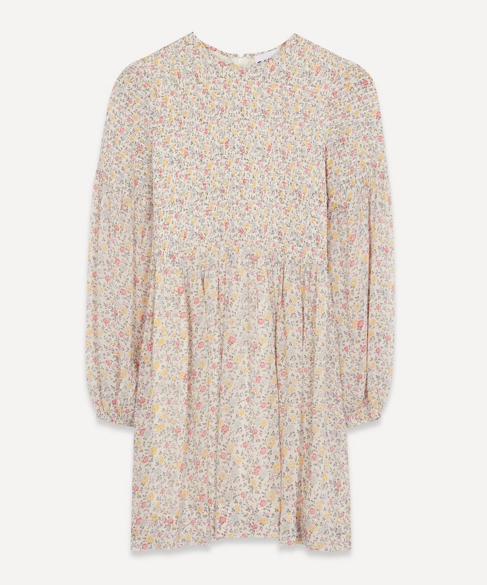 Ganni Mini dresses PRINTED GEORGETTE MINI-DRESS