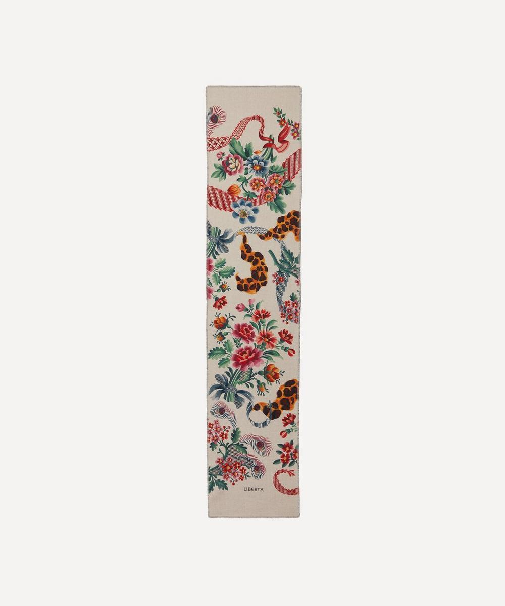 Liberty - Spitalfields Silk 208 x 48cm Wool Scarf