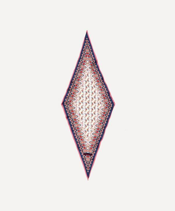 Liberty - Marietta 106 x 36cm Silk Twill Lozenge Scarf