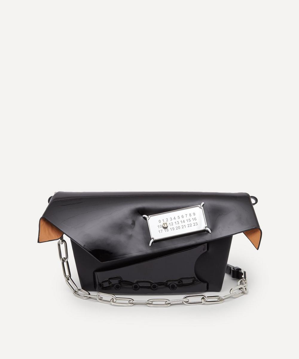 Maison Margiela - Snatched Small Leather Clutch Bag