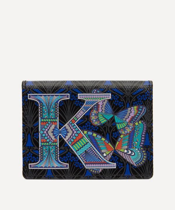 Liberty - Alphabet Travel Card Holder in K Print