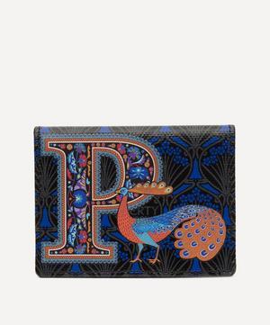 Alphabet Travel Card Holder in P Print
