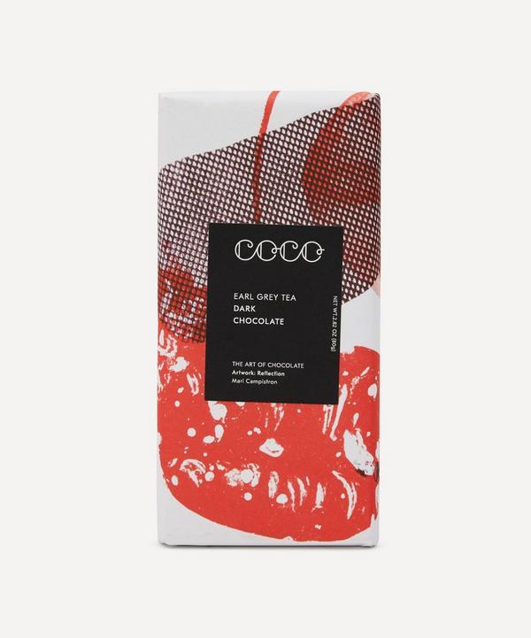 Coco Chocolatier - Dark Earl Grey Chocolate Bar 80g
