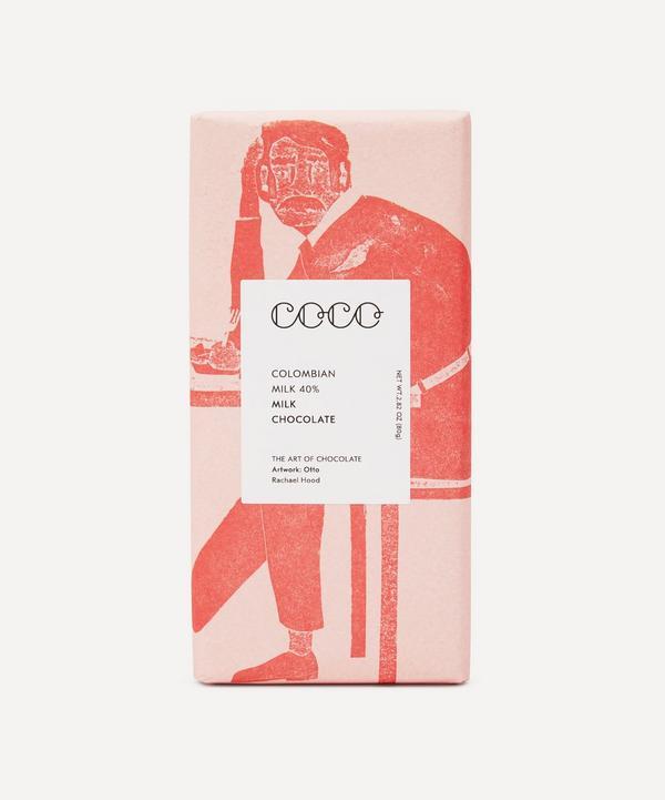 Coco Chocolatier - Milk Colombian Chocolate Bar 80g
