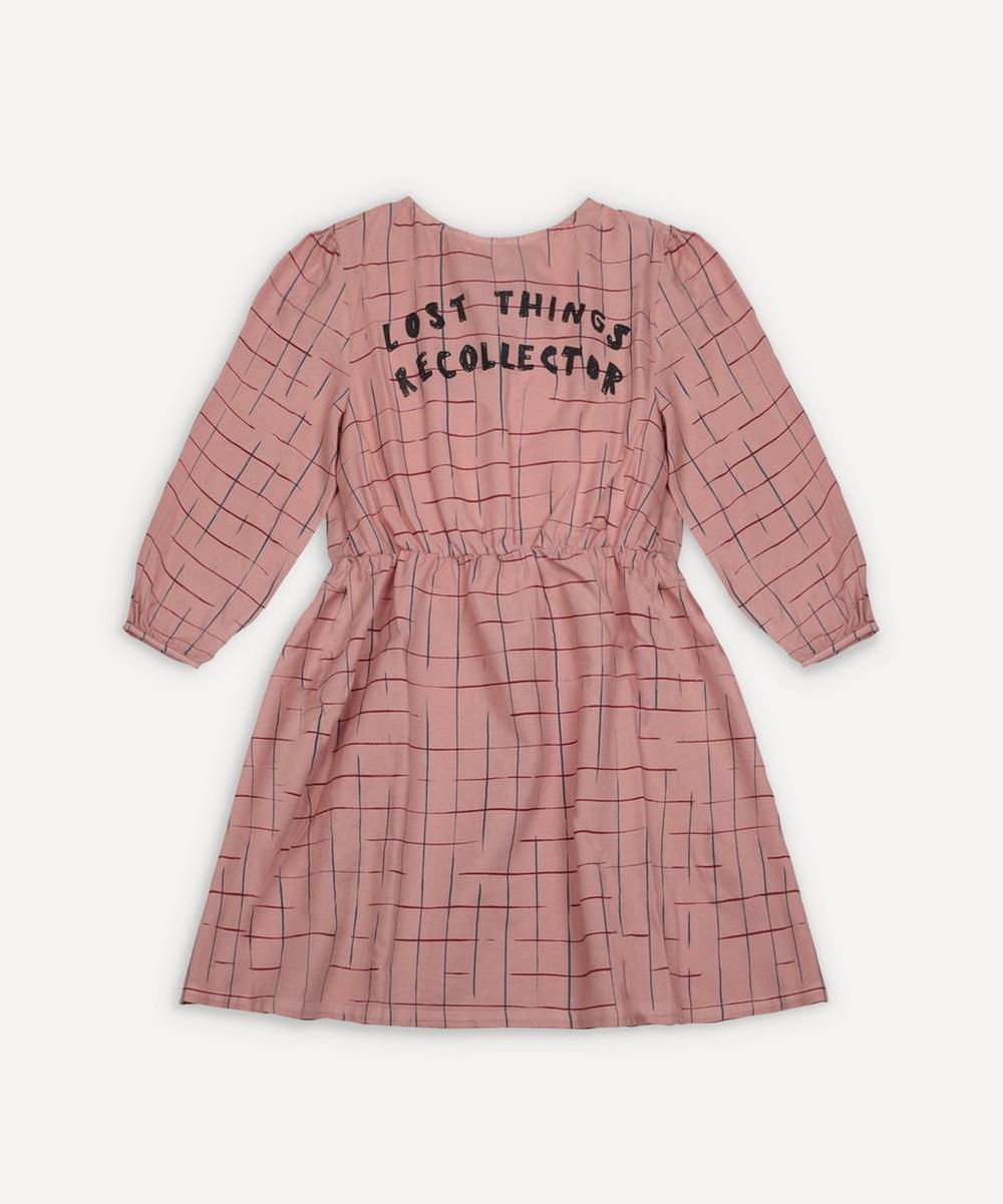 Bobo Choses - Grid Woven Dress 2-8 Years