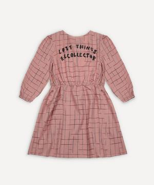 Grid Woven Dress 2-8 Years