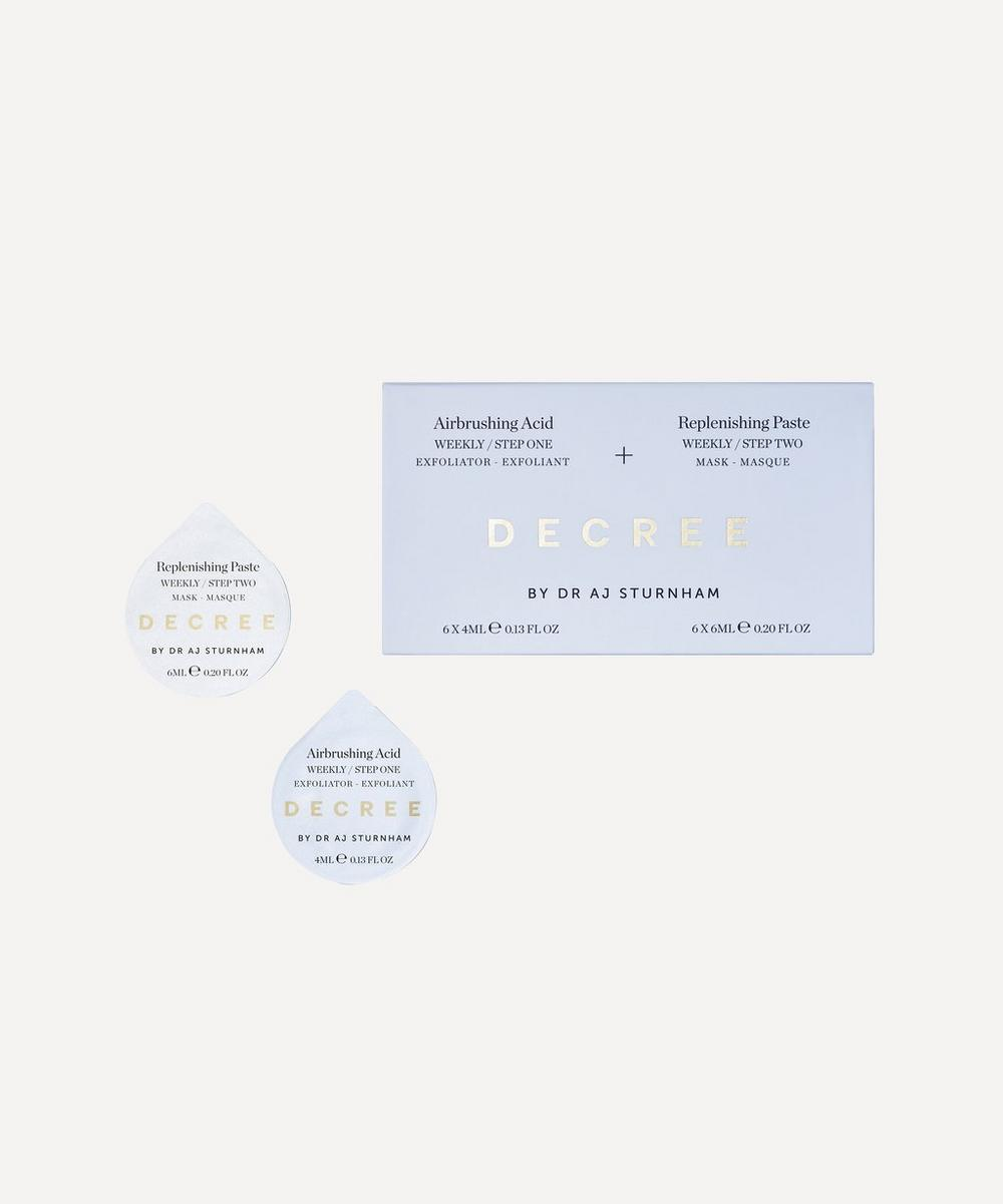 Decree - Weekly Decree Resurfacing Treatment 6 x 4ml & 6 x 6ml