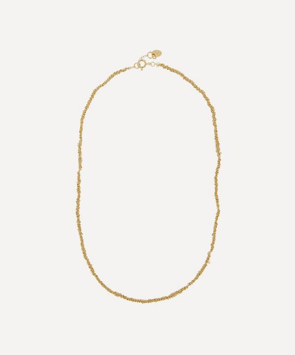 Stephanie Schneider - Gold-Plated Textured Chain Necklace