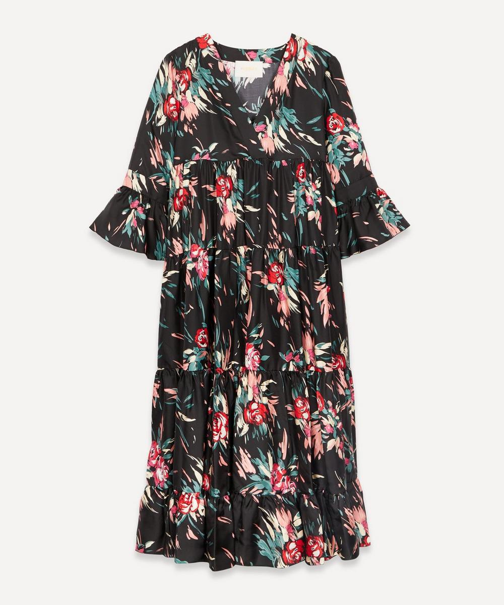 La Doublej JENNIFER JANE SILK DRESS