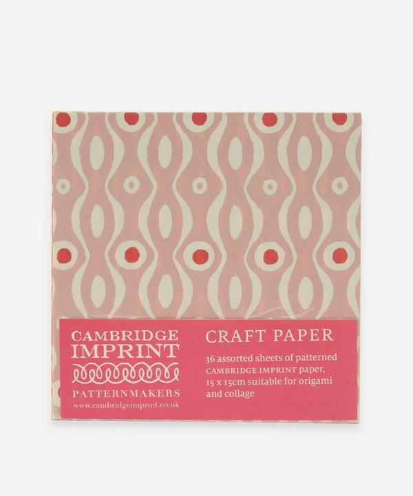 Cambridge Imprint - Assorted Craft Paper Packet of 36 Sheets