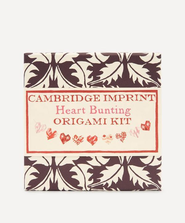 Cambridge Imprint - Origami Heart Bunting Kit