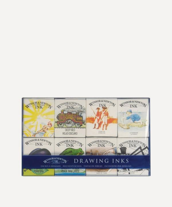 Winsor & Newton - William Collection Drawing Inks Pack of 8